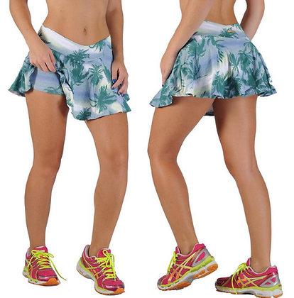 Saia Short Fitness Estampada - REF_SSE1