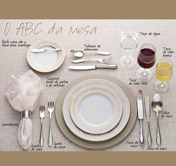 Mesa de jantar perfeita!!
