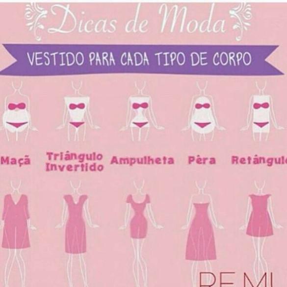 Qual vestido é o mais recomendado pra você?