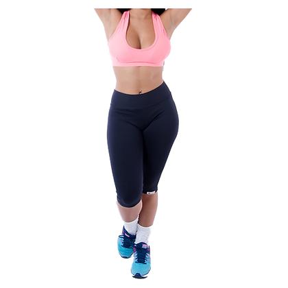 Calça Fem. Corsário Faixa Fitness 10 pçs - REF_A07