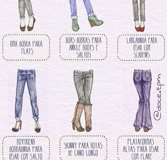 Inove no seu jeans.
