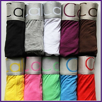 5 Cuecas Boxer de Cotton - REF_KCC
