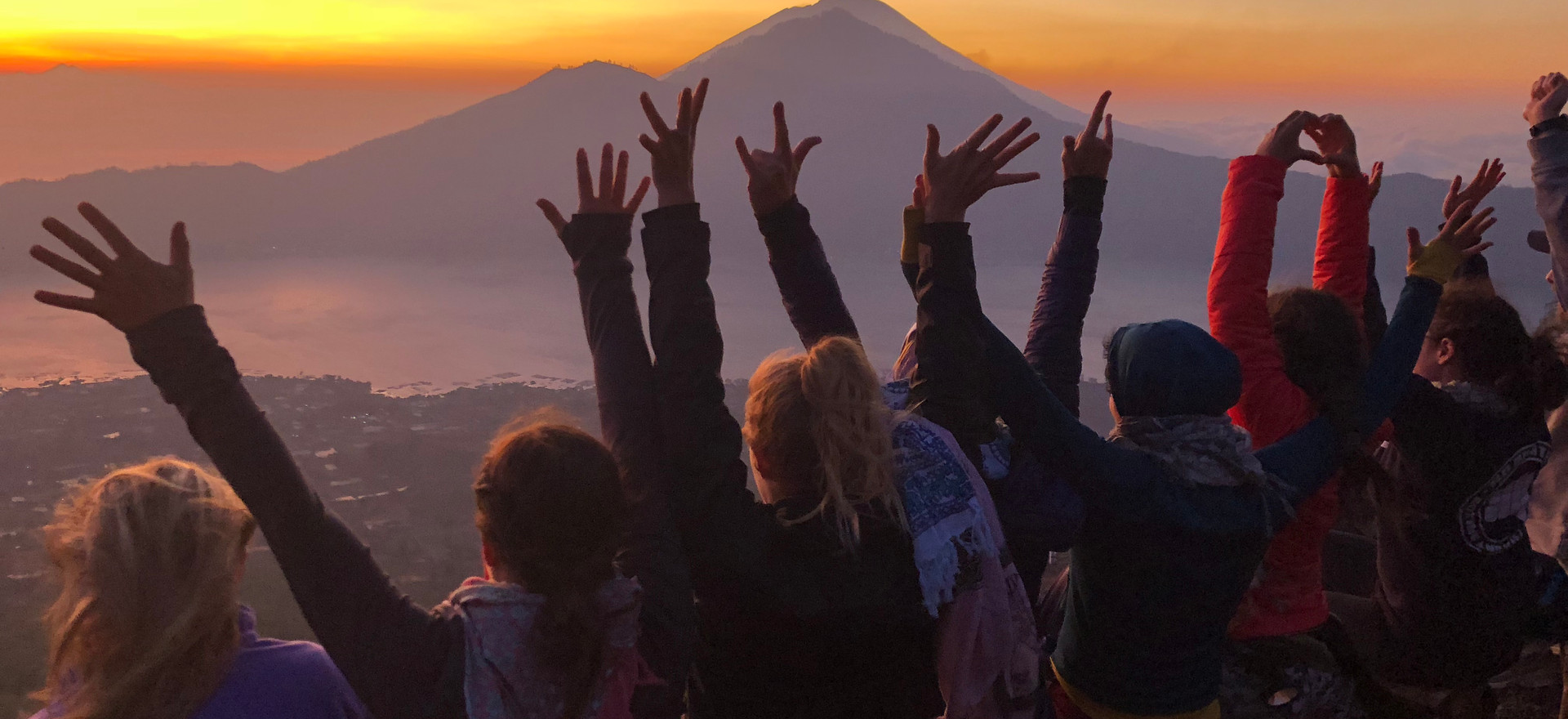 Bali Yoga Retreat Sunrise Volcano Hike.j