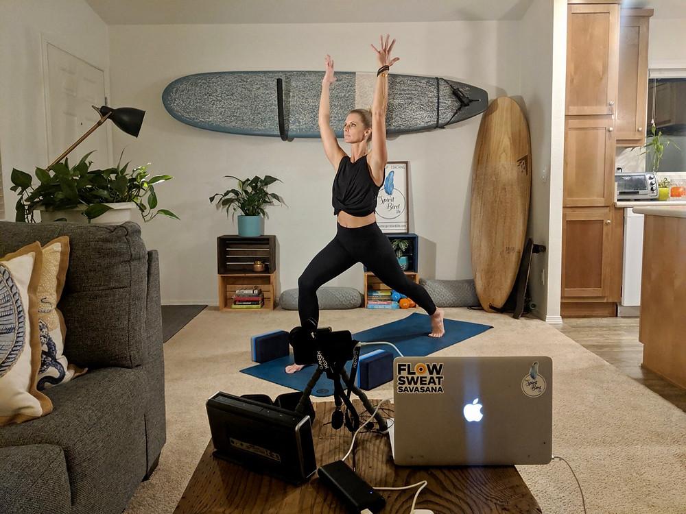 Zoom Online Yoga Class