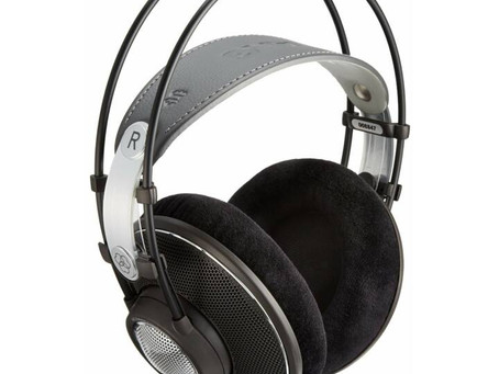 REVIEW: AKG K612 PRO - OPEN BACK - ENG