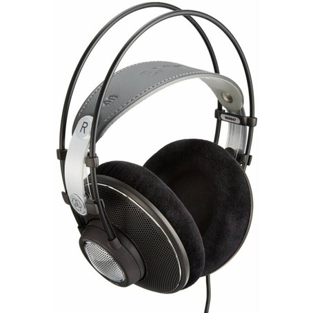 REVIEW: AKG K612 PRO - OPEN BACK - DE
