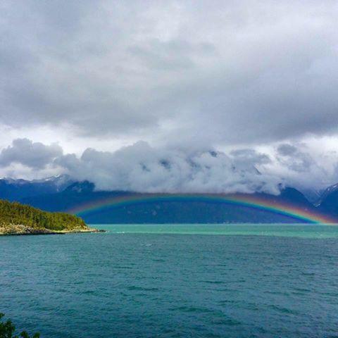 Rainbow On Lynn Canal Viking Cove - Hain