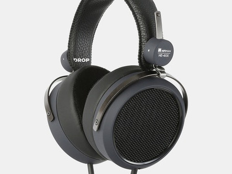 REVIEW: DROP x HIFIMAN HE4XX - OPEN BACK - ENG