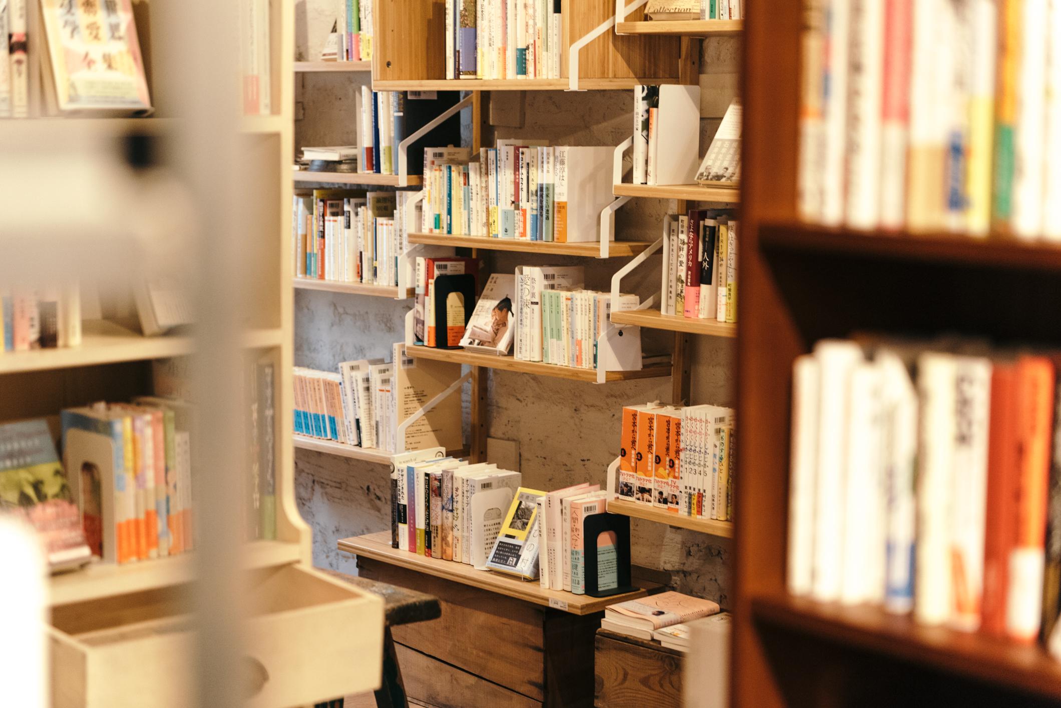 板橋区ときわ台の書店「本屋イトマイ」の店内