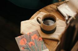 ときわ台のカフェ「本屋イトマイ」のブレンドコーヒー