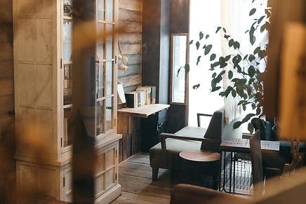 ときわ台「本屋イトマイ」のカフェスペース
