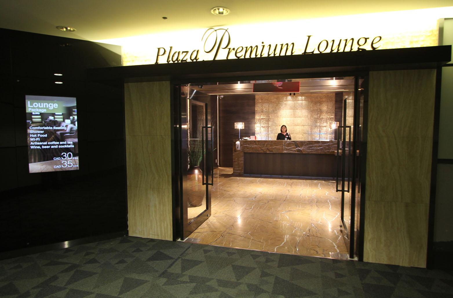 PLAZA PREMIUM LOUNGE PEARSON AIRPORT