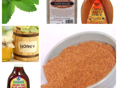 My Favorite Natural (And Healthy) Sweeteners