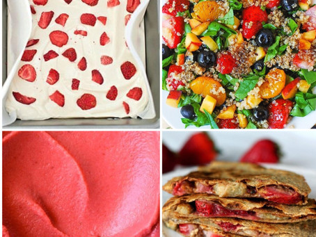 Keeping Your Strawberry Haul Light:  Simple and Clean Strawberry Recipes.