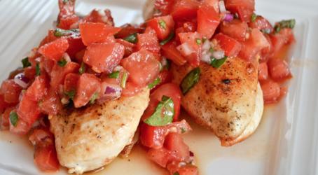 Summer Fresh Bruschetta Chicken
