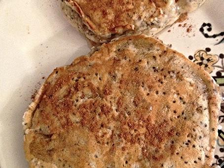 Chia Seed Apple Pie Pancakes
