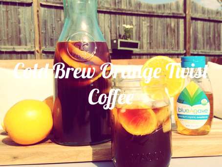 Cold Brew Orange Twist Coffee