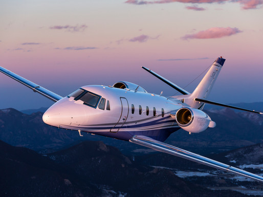 Onboard the Cessna Citation XLS+