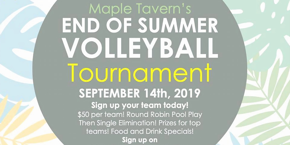 End of Summer Volleyball Tournament