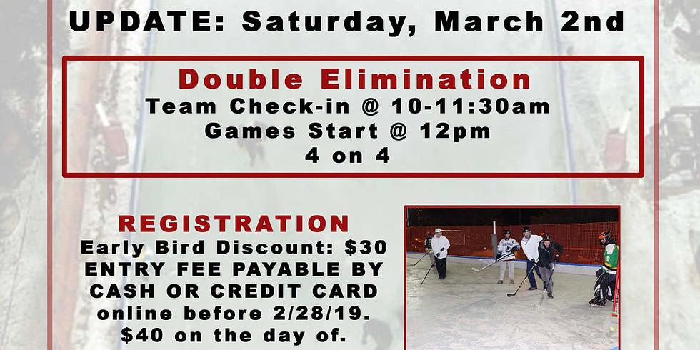 1st Annual Boot Hockey Tournament