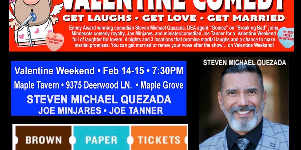 Saturday Valentine Comedy Show