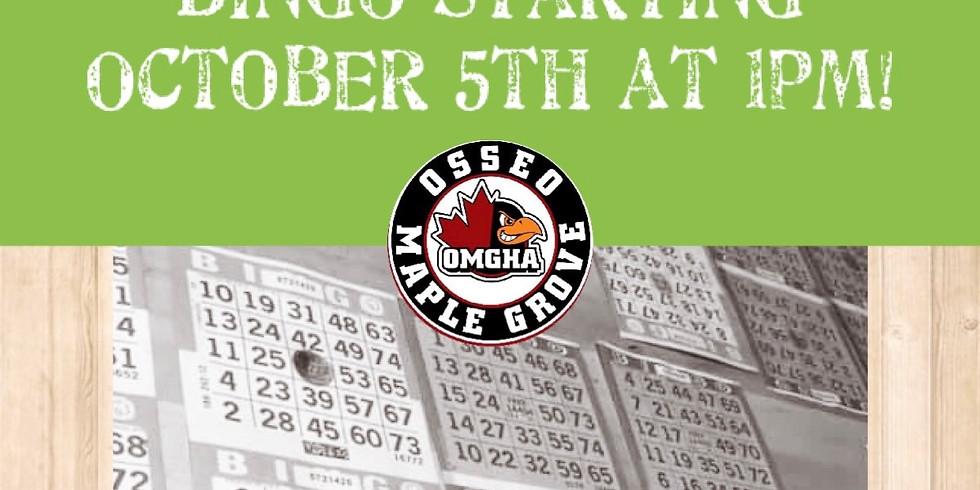 Saturday Afternoon Bingo Kick Off