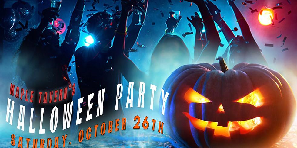 Maple Tavern Halloween Party!
