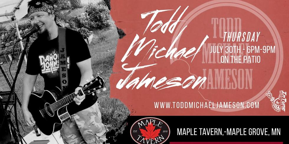 Todd Michael Jameson - Live on the Patio!