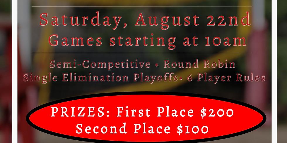 Saturday, August 22 Volleyball Tournament