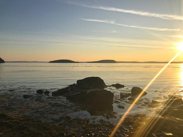 Sunrise Shore Path