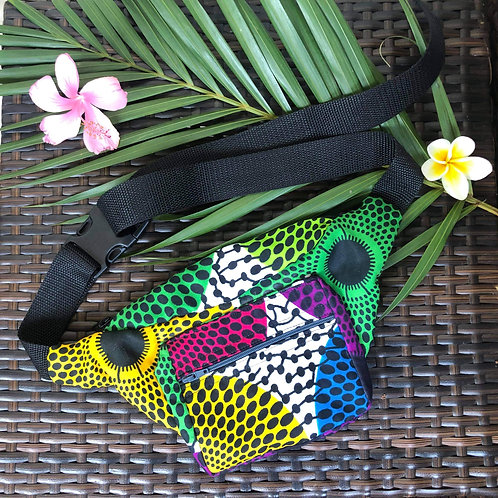 Kitenge Waist Bag (Color Pop)