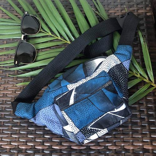 Kitenge Waist Bag (Blue)