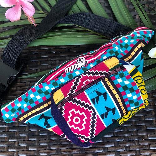 Kitenge Waist Bag (Tribal)