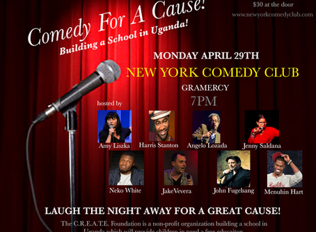 STAND UP COMEDY FUNDRAISER TO BENEFIT C.R.E.A.T.E!