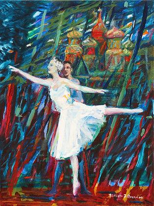Ballet – Tänzer in Moskau