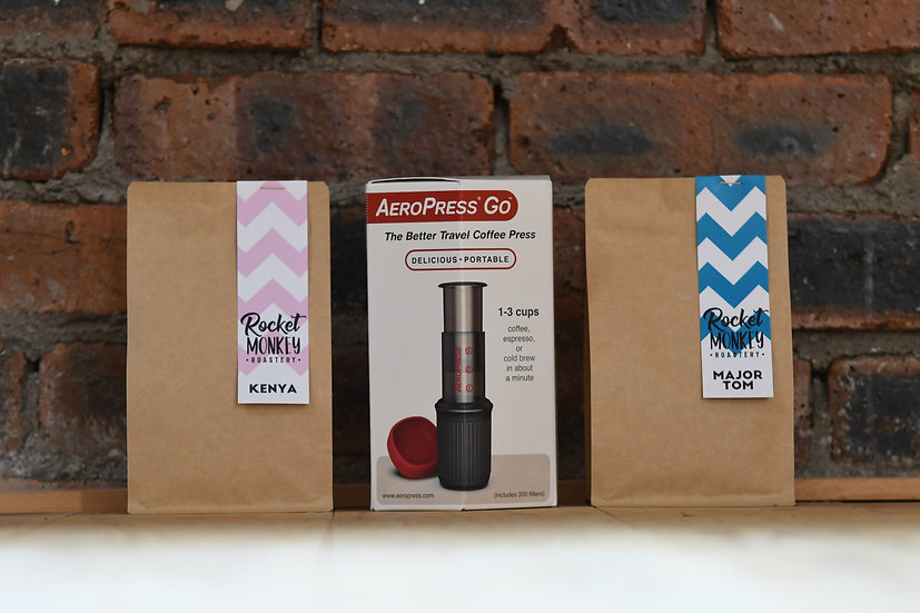 AeroPress Go + Kenya and Major Tom (250g)