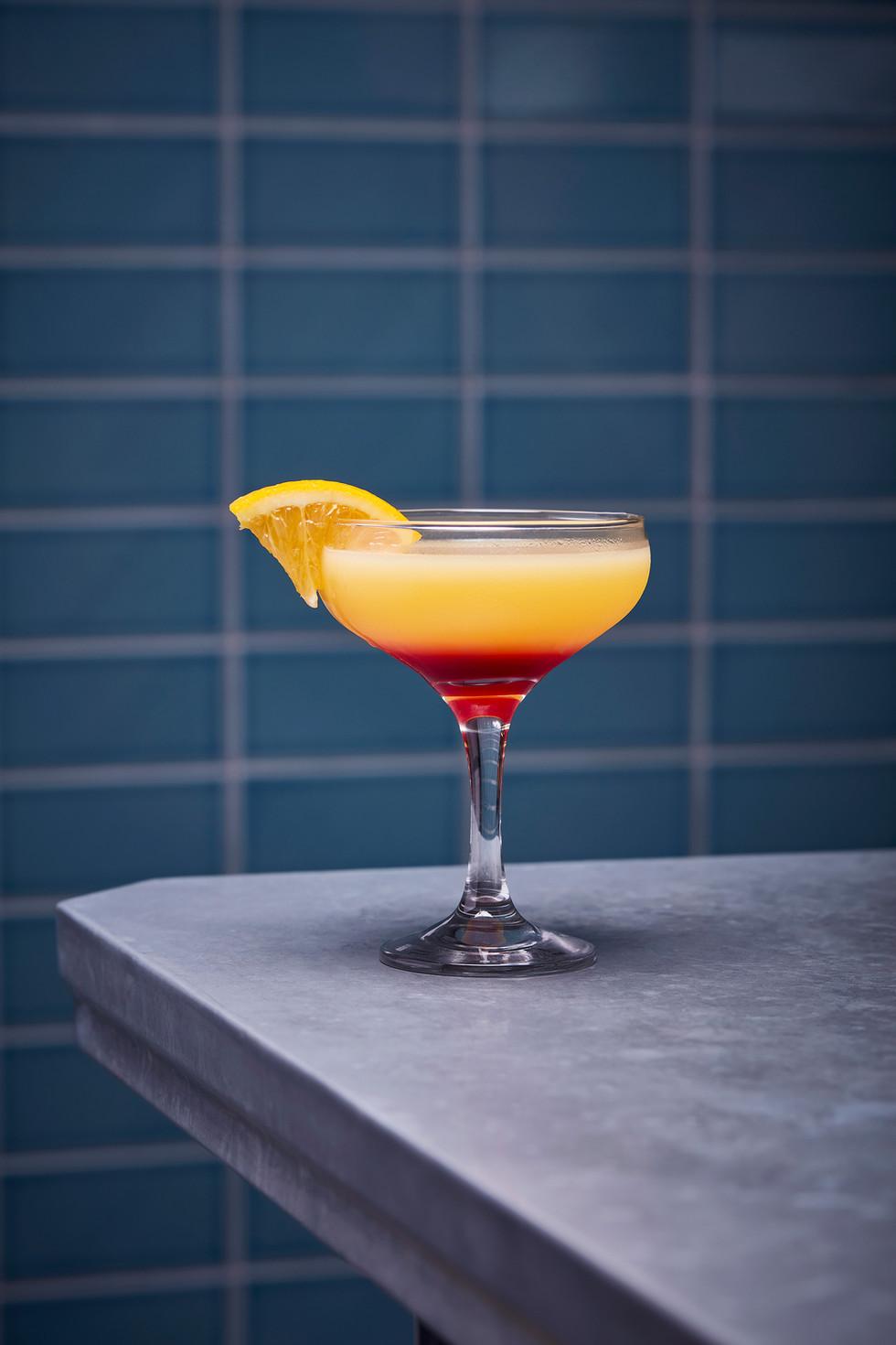 Heidrun tequilla sunrise cocktail