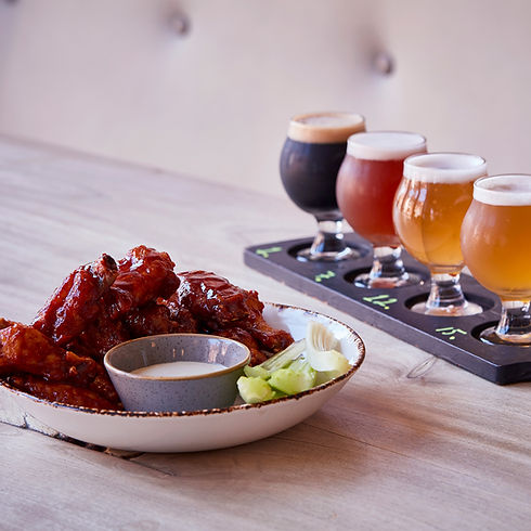 Heidrun Spicy Chicken Wings and Craft Beer