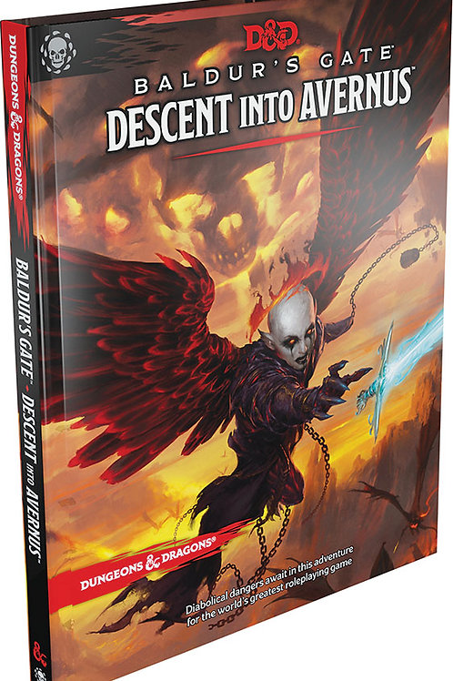 Dungeons and Dragons RPG: Baldur`s Gate - Descent into Avernus