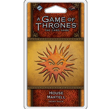 Game of Thrones 2nd Edition LCG: House Martell Intro Deck