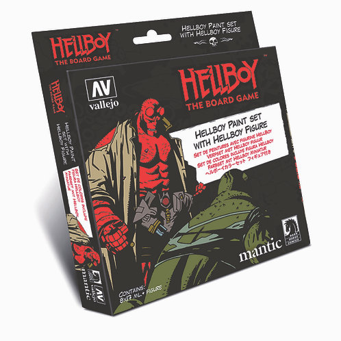 Hellboy: Paint Set
