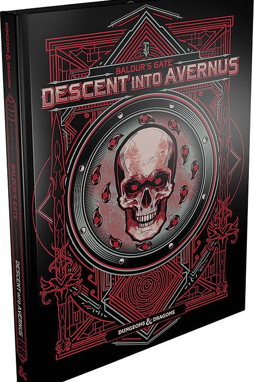 Dungeons and Dragons RPG: Baldur`s Gate - Descent into Avernus Alternate Cover