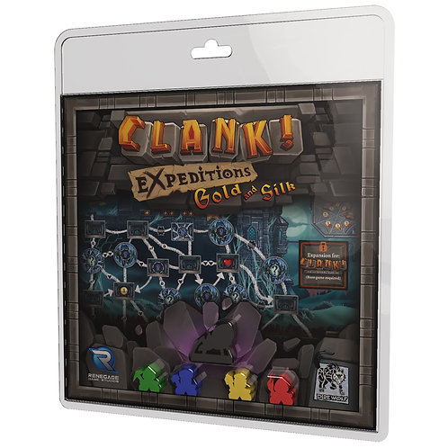 Clank!: Expeditions - Gold and Silk Expansion