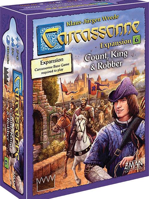 Carcassonne Expansion 6 - CountKingRobber
