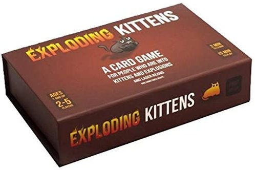 Exploding Kittens First Edition