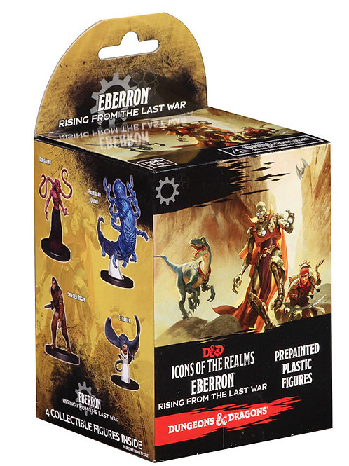 D&D Fantasy Mini: Icons of the Realms: Eberron: Rising from the Last War Booster