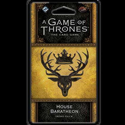 Game of Thrones 2nd Edition LCG: House Baratheon Intro Deck
