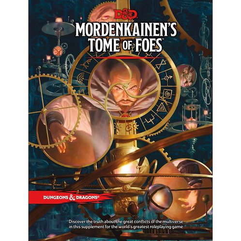Dungeons and Dragons RPG: Mordenkainen`s Tome of Foes