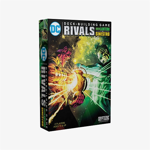 DC Deck-Building Game: Rivals 2 Green Lantern Vs. Sinestro