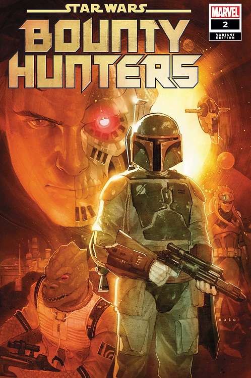 STAR WARS BOUNTY HUNTERS #2 NOTO VAR